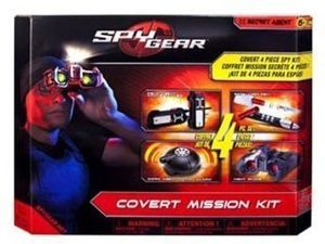 Spy Gear Covert Mission Kit