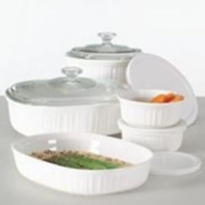 CorningWare French White 10-pc Set After Rebate