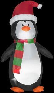 Home Accents Holiday 4 ft. Airblown Lighted Penguin