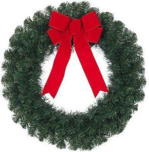 "26"" Fresh-cut Decorated Balsam Wreath"