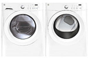 Kenmore 3.7 Cu Ft Washer + 7.0 Cu Ft Dryer