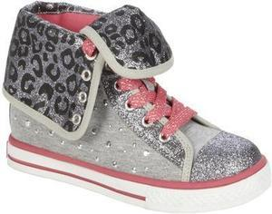 Bongo Girl's Leona Sparkle Canvas - Grey