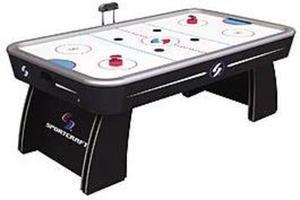 Sportcraft  7' Classic Air Hockey w/ Bonus Table Tennis Top