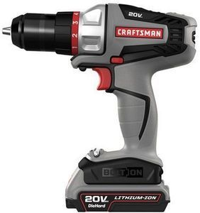 Craftsman Bolt-On 20-Volt Max Lithium-Ion Drill/Driver