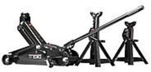 Craftsman 2-1/4 ton Floor Jack Set with 2-1/4 ton Jack Stands