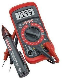 Craftsman Digital Multimeter Detector and Craftsman Versa Track Trackwall