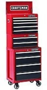 Craftsman 11-Drawer Heavy Duty Ball-Bearing Tool Chest Bundle