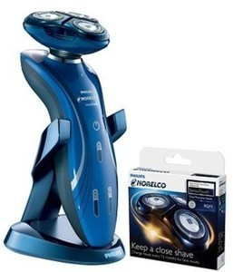 Philips Norelco SensoTouch Wet and Dry Electric Razor with Precision Trimmer