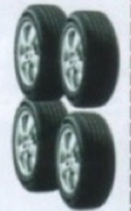 Set of 4 Passenger or Light Truck Tires
