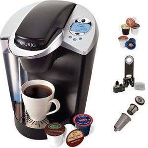Keurig Signature Brewer Coffeemaker w/ Accessory & 36 K-Cup Packs