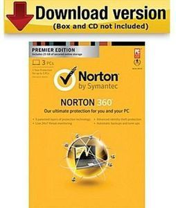 Norton 360 15-Month Zone Bundle, 3 PCs