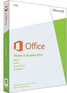 Microsoft Office Home & Student 2013 w/ PC Purchase