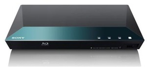 Sony Smart Wi-Fi Blu-ray Player w/ 100+ Streaming Apps