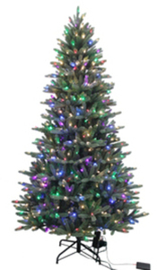 Holiday Living 7.5-ft Pre-Lit Artificial Christmas Tree