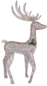 Holiday Living 4-Ft. 70-Light Champagne String Buck