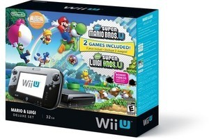 Wii U Bundle + $20 Back