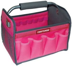 Craftsman Tote (Blue or Pink)
