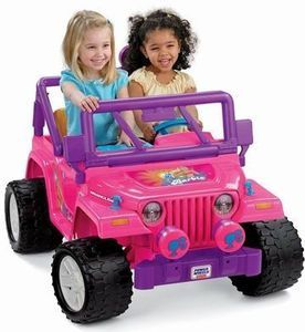 Barbie Jammin' Jeep