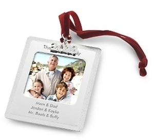 Photo Frame Ornament