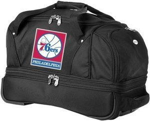 Denco Rolling Duffel w/ NFL, NCAA, and MLB Logos