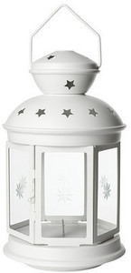 ROTERA Lantern for Block Candle