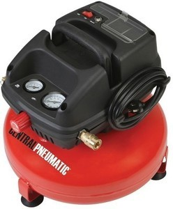 Central Pneumatic Oilless 3 Gal. Air Compressors