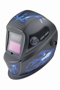 Chicago Electric Auto-Darkening Blue Flame Welding Helmet