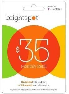 Brightspot Prepaid Cards