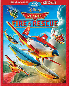 Planes: Fire and Rescue Combo Pack (Blu-Ray/DVD)