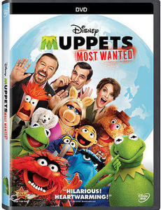 The Muppets Most Wanted DVD