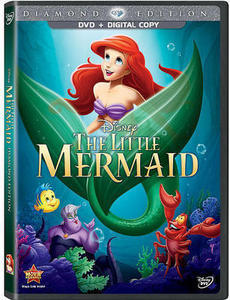 The Little Mermaid: Diamond Edition DVD