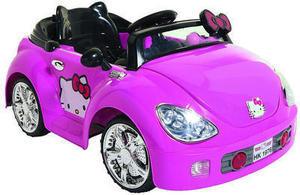 Dynacraft Hello Kitty Karaoke Kar Ride-On