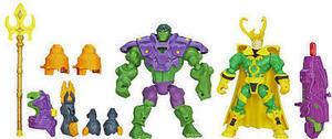 Marvel Super Hero Mashers - Hulk Vs. Loki