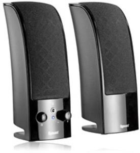 Gigaware 2.0-Channel Multimedia Speakers (Black)