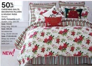 Christmas Gifts, Holiday Rugs & Decorative Pillows