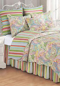 Full/Queen 100% Cotton Reversible Quilts