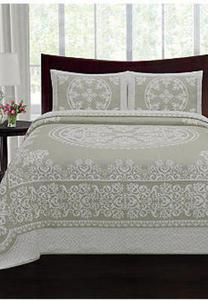 Sydney 100% Cotton Bedspread (Any Size)