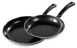 Cooks Tools 2-Piece Carbon Steel Fry Pan Set