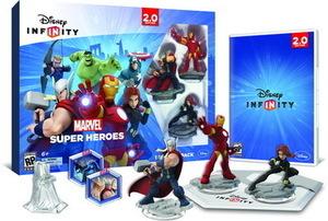 Disney Infinity Marvel Super Heroes 2.0 Edition Starter Pack