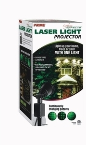Yard Stake Laser Light Projector