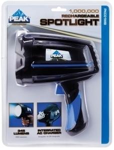 Peak 12 V Rechargeable Spotlight w/ Ace Card