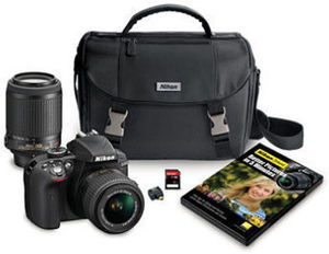 Nikon D3300 24.2MP HD-SLR Camera Bundle