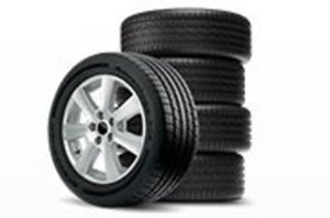 Set of 4 Tires from BF Goodrich, Pirelli, Michelin or Goodyear