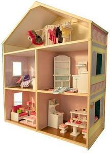 My Girl's 18in Doll Dollhouse Sweet Bungalow
