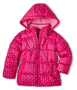 Vertical 9 Girls' Puffer Jacket