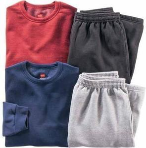 Hanes Men's Fleece Crewneck or Pants