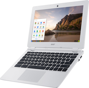 "Acer 11.6"" Chromebook 2GB Memory 16GB eMMC Flash Memory"