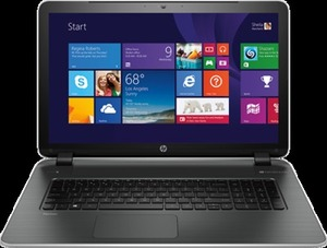 "HP Pavilion 17.3"" Laptop 4GB Memory 750GB HD"
