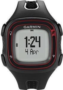 Garmin - Forerunner 10 GPS Watch - Black/Red