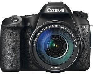 Canon EOS 70D DSLR Camera w/ 18-135mm IS STM Lens